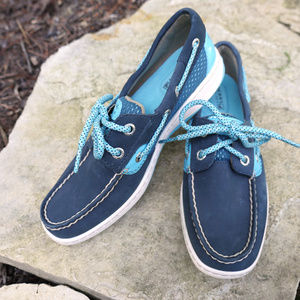 Sperry | blue boat shoe | topsider bluefish mesh